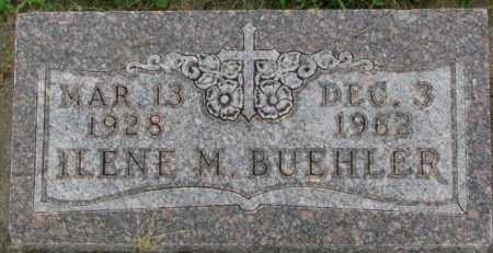 BUEHLER, ILENE M. - Dakota County, Nebraska   ILENE M. BUEHLER - Nebraska Gravestone Photos
