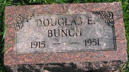 BUNCH, DOUGLAS E. - Dakota County, Nebraska | DOUGLAS E. BUNCH - Nebraska Gravestone Photos