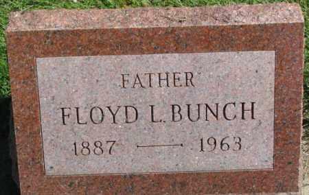 BUNCH, FLOYD L. - Dakota County, Nebraska | FLOYD L. BUNCH - Nebraska Gravestone Photos