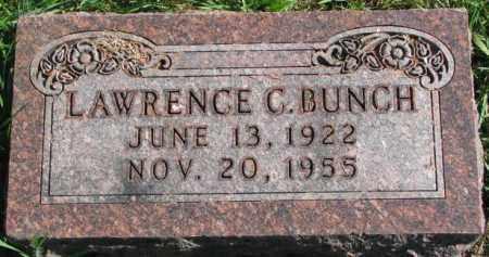BUNCH, LAWRENCE C. - Dakota County, Nebraska | LAWRENCE C. BUNCH - Nebraska Gravestone Photos