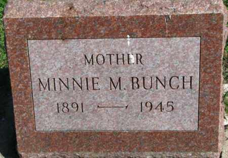 BUNCH, MINNIE M. - Dakota County, Nebraska | MINNIE M. BUNCH - Nebraska Gravestone Photos