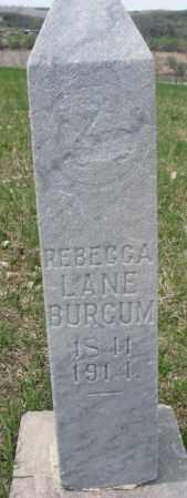 ALLOWAY BURCUM, REBECCA - Dakota County, Nebraska | REBECCA ALLOWAY BURCUM - Nebraska Gravestone Photos