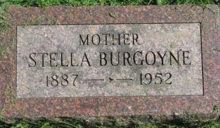 BURGOYNE, STELLA - Dakota County, Nebraska | STELLA BURGOYNE - Nebraska Gravestone Photos