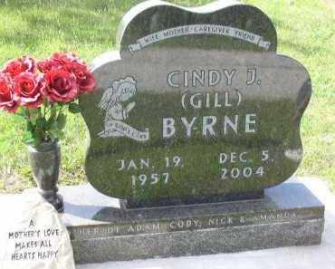 GILL BYRNE, CINDY - Dakota County, Nebraska | CINDY GILL BYRNE - Nebraska Gravestone Photos