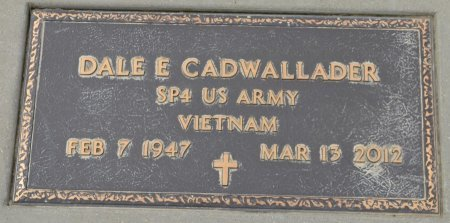 CADWALLADER, DALE E. (MILITARY) - Dakota County, Nebraska | DALE E. (MILITARY) CADWALLADER - Nebraska Gravestone Photos