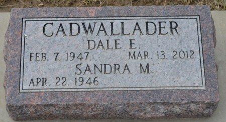 CADWALLADER, DALE E. - Dakota County, Nebraska | DALE E. CADWALLADER - Nebraska Gravestone Photos