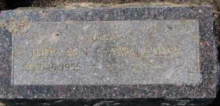 CADWALLADER, JUDY ANN - Dakota County, Nebraska   JUDY ANN CADWALLADER - Nebraska Gravestone Photos