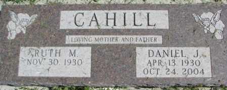 CAHILL, DANIEL J. - Dakota County, Nebraska | DANIEL J. CAHILL - Nebraska Gravestone Photos