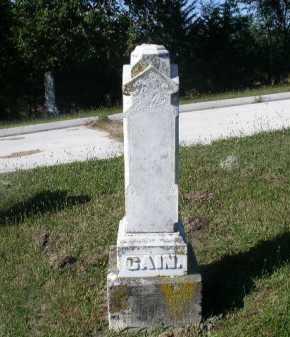 CAIN, JEREMIAH - Dakota County, Nebraska | JEREMIAH CAIN - Nebraska Gravestone Photos