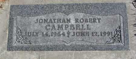 CAMPBELL, JONATHAN ROBERT - Dakota County, Nebraska | JONATHAN ROBERT CAMPBELL - Nebraska Gravestone Photos