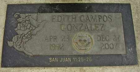 CAMPOS-GONZALEZ, EDITH - Dakota County, Nebraska | EDITH CAMPOS-GONZALEZ - Nebraska Gravestone Photos