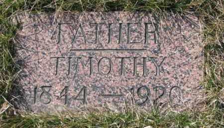 CAREY, TIMOTHY - Dakota County, Nebraska | TIMOTHY CAREY - Nebraska Gravestone Photos
