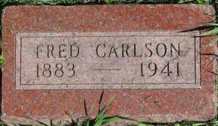 CARLSON, FRED - Dakota County, Nebraska | FRED CARLSON - Nebraska Gravestone Photos