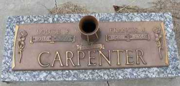 CARPENTER, FRANCIS J. - Dakota County, Nebraska | FRANCIS J. CARPENTER - Nebraska Gravestone Photos