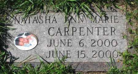 CARPENTER, NATASHA ANN MARIE - Dakota County, Nebraska | NATASHA ANN MARIE CARPENTER - Nebraska Gravestone Photos
