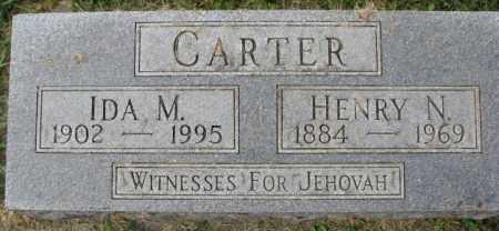 CARTER, IDA M. - Dakota County, Nebraska | IDA M. CARTER - Nebraska Gravestone Photos