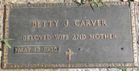 CARVER, BETTY J. - Dakota County, Nebraska | BETTY J. CARVER - Nebraska Gravestone Photos