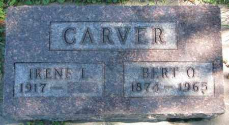 CARVER, IRENE L. - Dakota County, Nebraska | IRENE L. CARVER - Nebraska Gravestone Photos