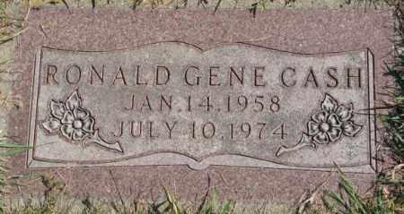 CASH, RONALD GENE - Dakota County, Nebraska | RONALD GENE CASH - Nebraska Gravestone Photos
