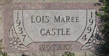 CASTLE, LOIS MAREE - Dakota County, Nebraska | LOIS MAREE CASTLE - Nebraska Gravestone Photos