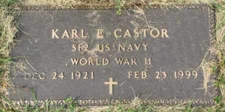 CASTOR, KARL E. - Dakota County, Nebraska | KARL E. CASTOR - Nebraska Gravestone Photos