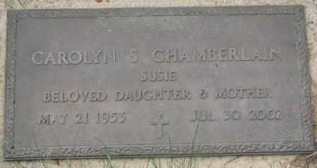 CHAMBERLAIN, CAROLYN S. - Dakota County, Nebraska | CAROLYN S. CHAMBERLAIN - Nebraska Gravestone Photos