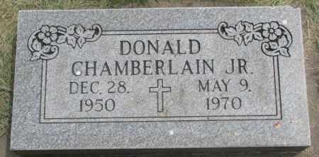 CHAMBERLAIN, DONALD JR. - Dakota County, Nebraska | DONALD JR. CHAMBERLAIN - Nebraska Gravestone Photos