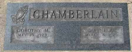 CHAMBERLAIN, DOROTHY M. - Dakota County, Nebraska | DOROTHY M. CHAMBERLAIN - Nebraska Gravestone Photos