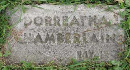 CHAMBERLAIN, DORREATHA - Dakota County, Nebraska | DORREATHA CHAMBERLAIN - Nebraska Gravestone Photos