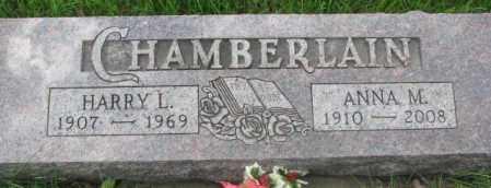CHAMBERLAIN, ANNA M. - Dakota County, Nebraska | ANNA M. CHAMBERLAIN - Nebraska Gravestone Photos