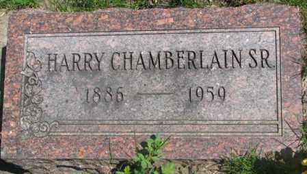 CHAMBERLAIN, HARRY SR. - Dakota County, Nebraska   HARRY SR. CHAMBERLAIN - Nebraska Gravestone Photos