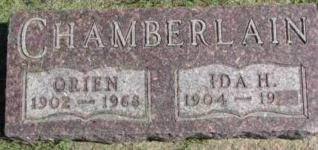CHAMBERLAIN, ORIEN - Dakota County, Nebraska   ORIEN CHAMBERLAIN - Nebraska Gravestone Photos