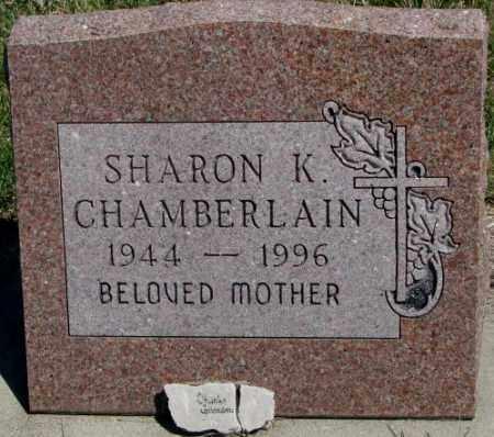 CHAMBERLAIN, SHARON K. - Dakota County, Nebraska | SHARON K. CHAMBERLAIN - Nebraska Gravestone Photos