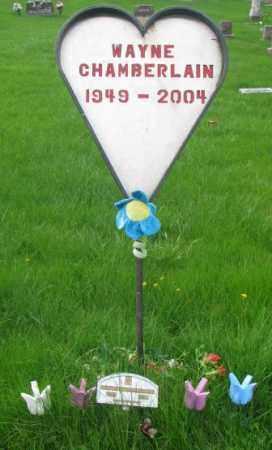 CHAMBERLAIN, WAYNE - Dakota County, Nebraska   WAYNE CHAMBERLAIN - Nebraska Gravestone Photos
