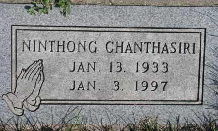CHANTHASIRI, NINTHONG - Dakota County, Nebraska   NINTHONG CHANTHASIRI - Nebraska Gravestone Photos