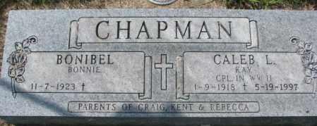 CHAPMAN, CALEB L. - Dakota County, Nebraska | CALEB L. CHAPMAN - Nebraska Gravestone Photos