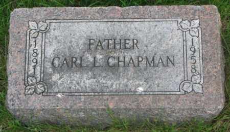 CHAPMAN, CARL L. - Dakota County, Nebraska | CARL L. CHAPMAN - Nebraska Gravestone Photos