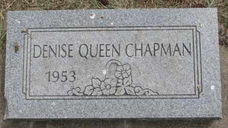 CHAPMAN, DENISE - Dakota County, Nebraska | DENISE CHAPMAN - Nebraska Gravestone Photos