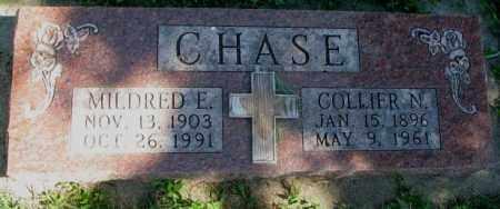 CHASE, COLLIER N. - Dakota County, Nebraska   COLLIER N. CHASE - Nebraska Gravestone Photos