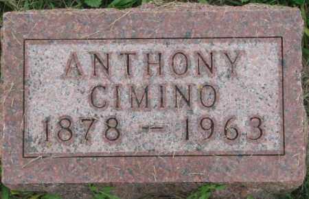 CIMINO, ANTHONY - Dakota County, Nebraska   ANTHONY CIMINO - Nebraska Gravestone Photos