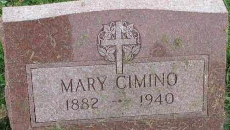 CIMINO, MARY - Dakota County, Nebraska | MARY CIMINO - Nebraska Gravestone Photos