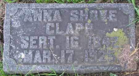CLAPP, ANNA - Dakota County, Nebraska | ANNA CLAPP - Nebraska Gravestone Photos