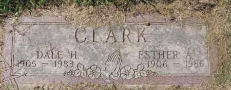 CLARK, ESTHER A. - Dakota County, Nebraska | ESTHER A. CLARK - Nebraska Gravestone Photos
