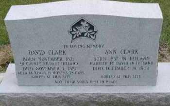 CLARK, ANN - Dakota County, Nebraska | ANN CLARK - Nebraska Gravestone Photos