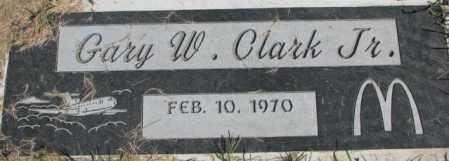 CLARK, GARY W. JR. - Dakota County, Nebraska | GARY W. JR. CLARK - Nebraska Gravestone Photos