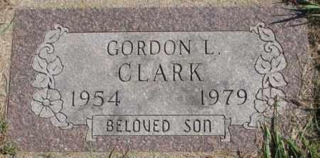 CLARK, GORDON L. - Dakota County, Nebraska   GORDON L. CLARK - Nebraska Gravestone Photos