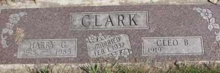 CLARK, CLEO B. - Dakota County, Nebraska | CLEO B. CLARK - Nebraska Gravestone Photos