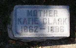 CLARK, KATIE - Dakota County, Nebraska | KATIE CLARK - Nebraska Gravestone Photos