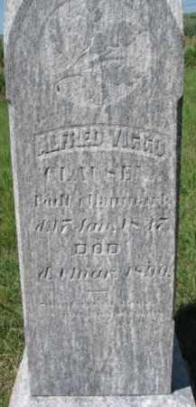 CLAUSEN, ALFRED VIGGO - Dakota County, Nebraska   ALFRED VIGGO CLAUSEN - Nebraska Gravestone Photos