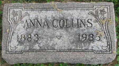 COLLINS, ANNA - Dakota County, Nebraska | ANNA COLLINS - Nebraska Gravestone Photos